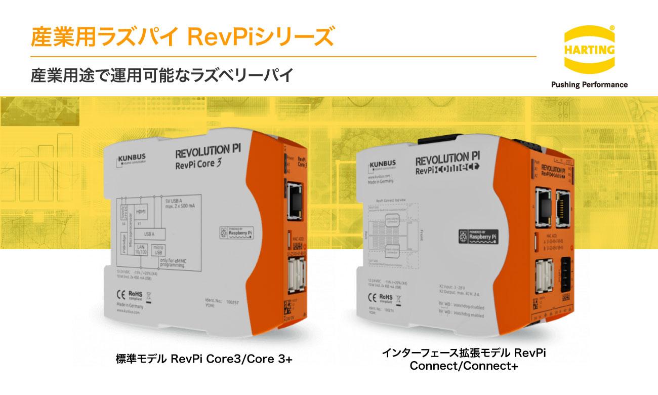 産業用ラズパイ Revolution Piシリーズ   ハーティング